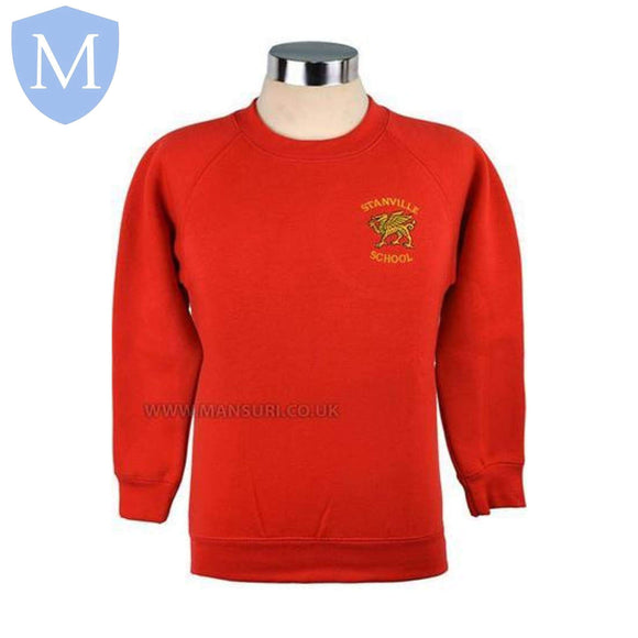 Stanville Primary Sweatshirts 2-3 Years,11-12 Years,13 Years,3-4 Years,4-5 Years,5-6 Years,7-8 Years,9-10 Years,Large,Medium,Small,X-Large