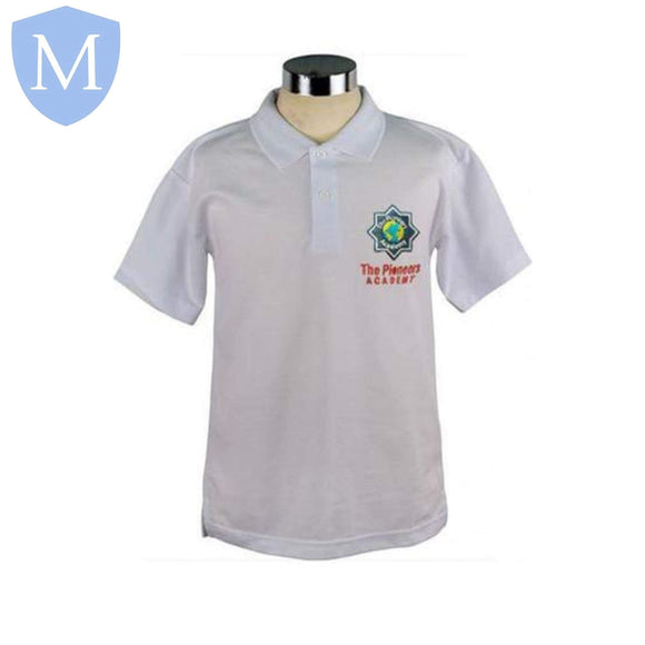The Pioneers Academy Polo Shirt (Boys) Chest 30 (11 Years),Chest 28 (9/10 Years),Chest 32 (12 Years),Chest 34 (13 Years),Chest 36 (14 Years),Chest 38 (15/16 Years),Chest 40,Chest 42,Chest 44