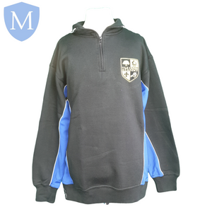 Tile Cross Fleece - Blue 30-32 (XS - 12 Years),26-28 (9-10 Years),34-36 (Medium - 14 Years),38-40 (large 15-16 Years),42-44 (X-Large),46-48 (XXL)