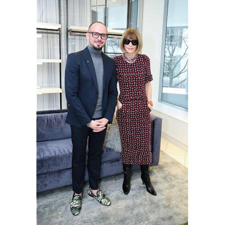 Chad Gaskell & Anna Wintour