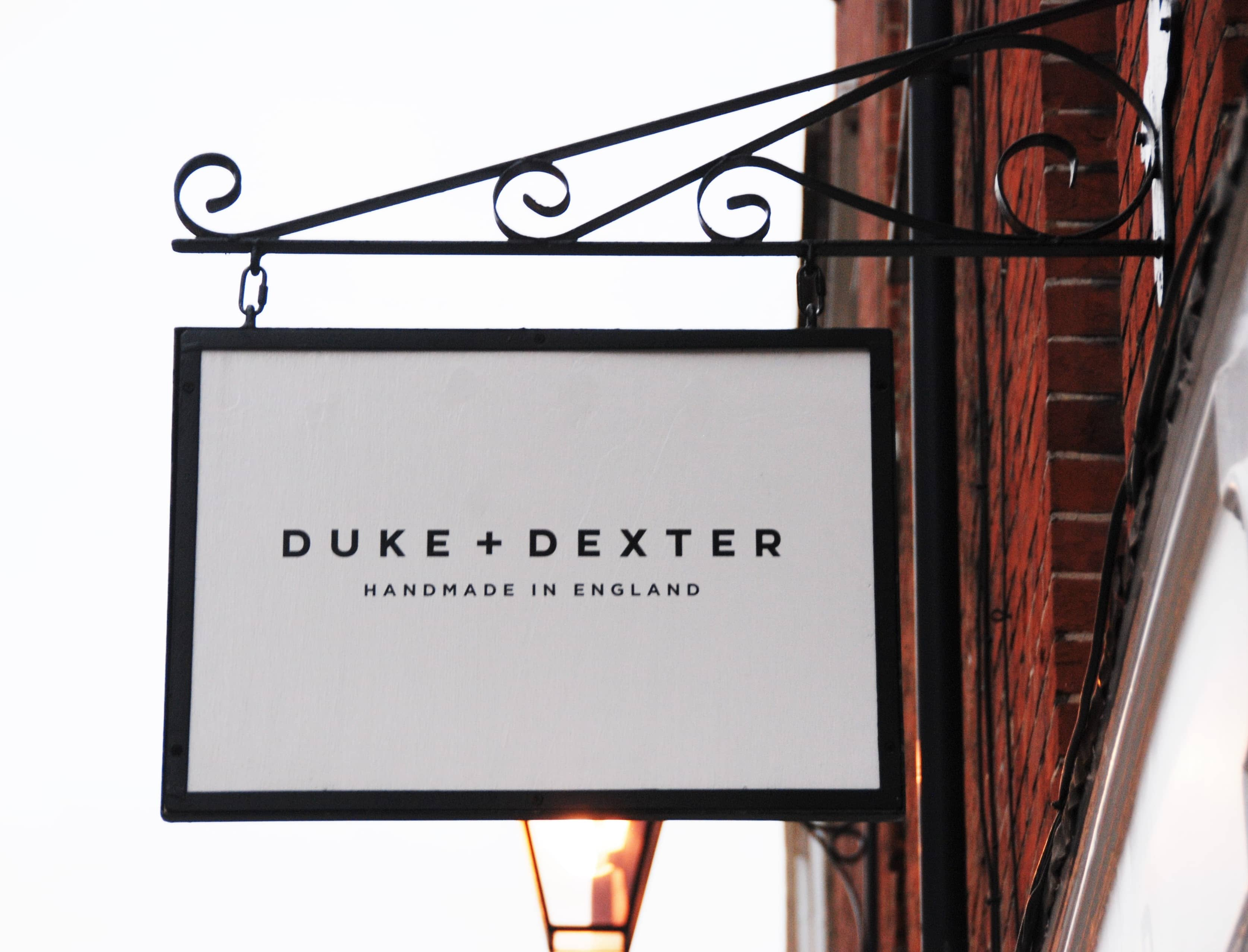 Duke & Dexter Mens Premium Loafers Duke Dexter Store Earlham Street Covent Garden Seven Dials Sign