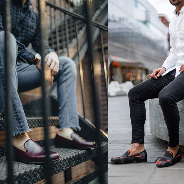 Can loafers be worn with jeans?