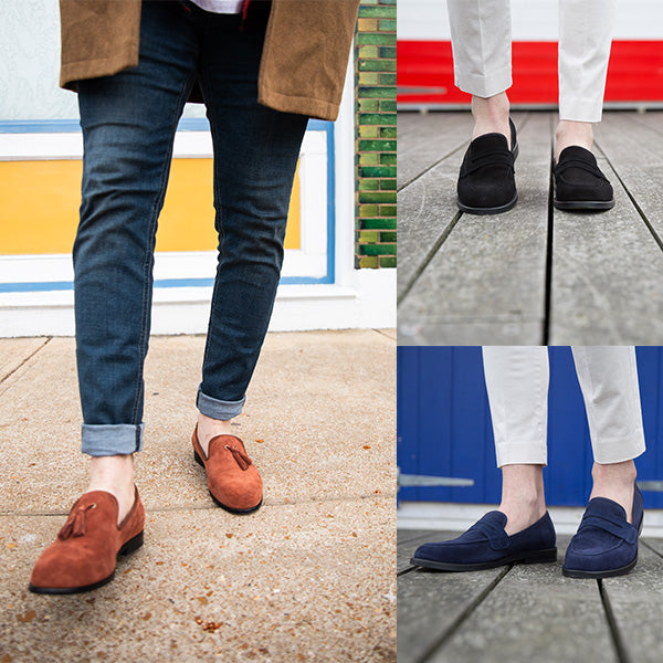 Penny, tassel, penny – different types of loafers