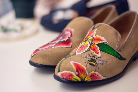 Morgan Seaford Bespoke Loafer Painting