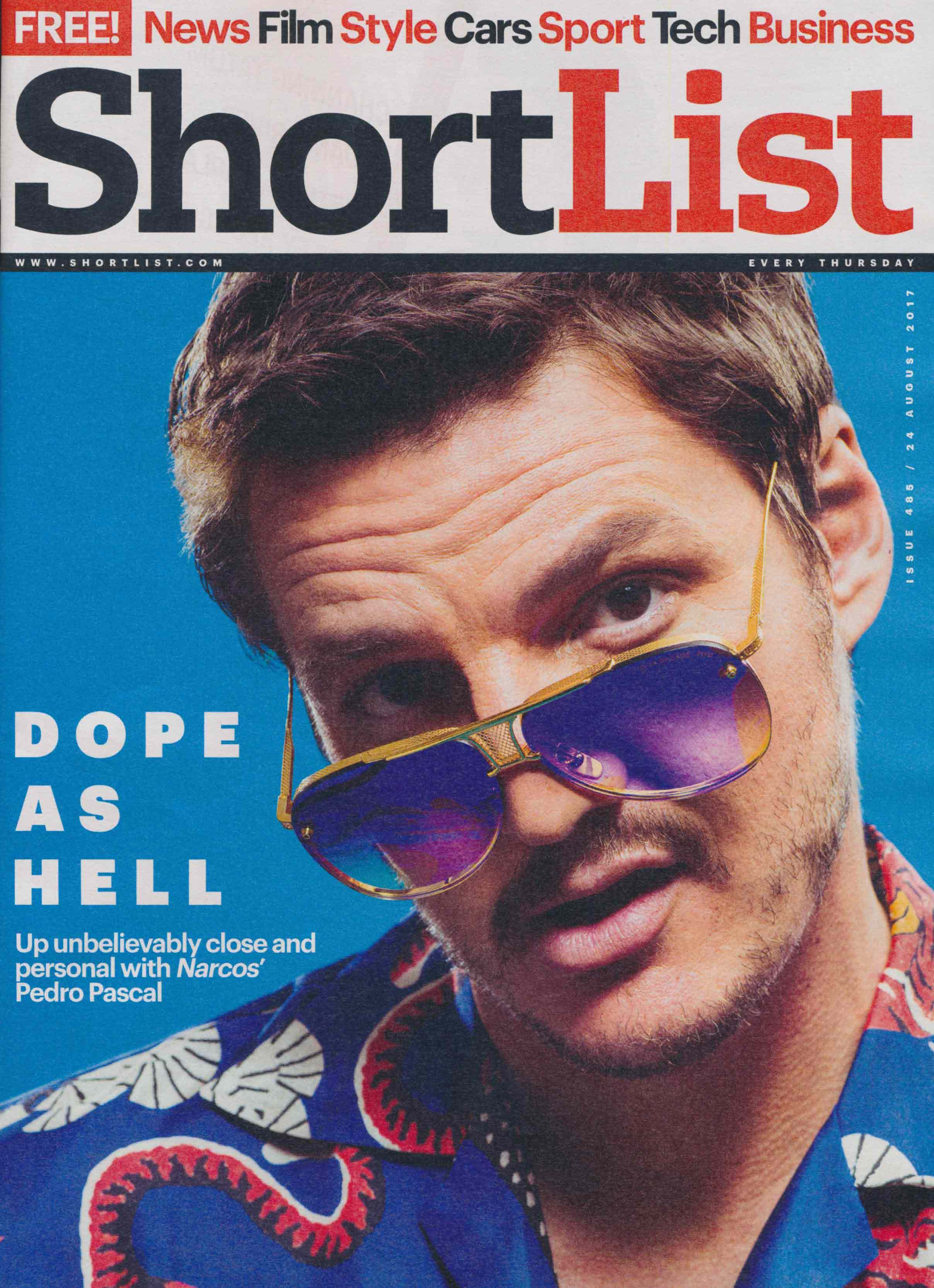 Duke and Dexter Shortlist Feature Cover