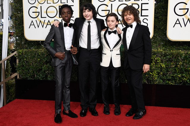 Duke & Dexter Mens Premium Loafers Caleb McLaughlin of the hit Netflix show 'Stranger Things'