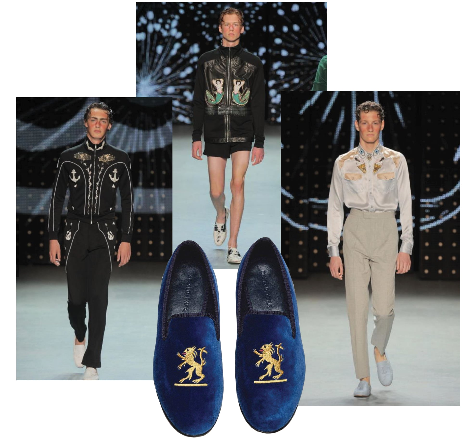 Duke & Dexter Mens Premium Loafers Mens London Fashion Week