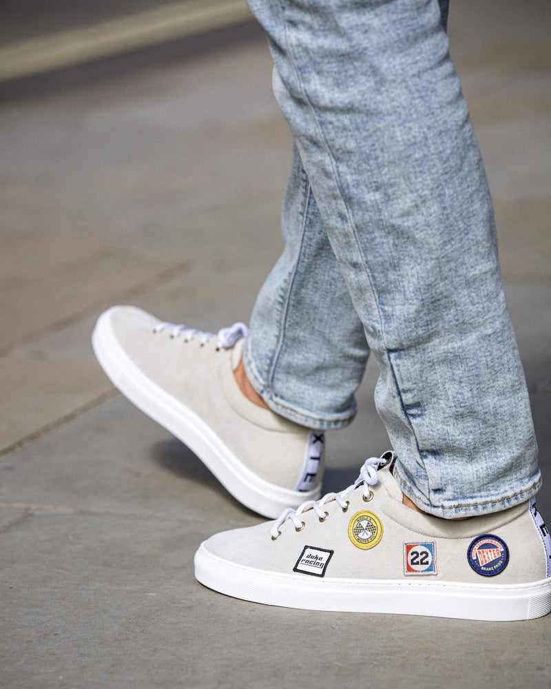 DRAKE Off-White Racing Patch Sneaker