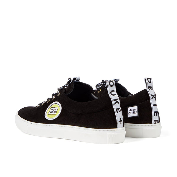 DRAKE Black 22 Racing Sneaker