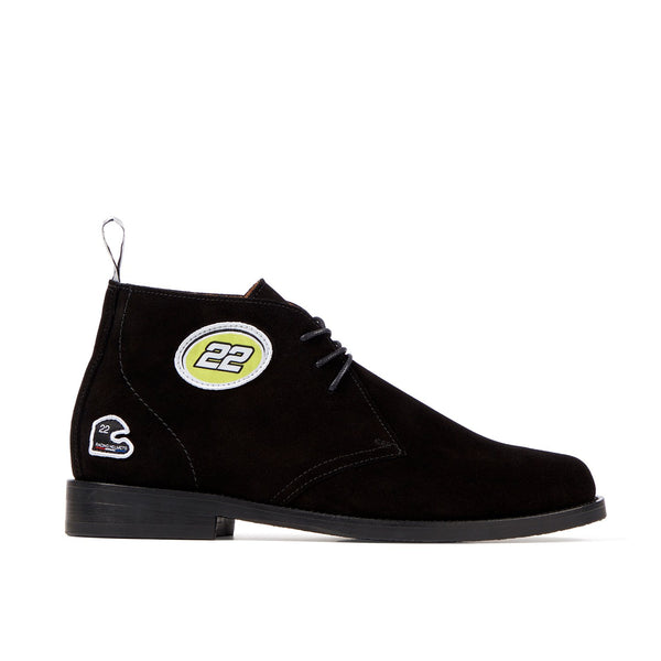 LEWIS Black 22 Racing Chukka Boot