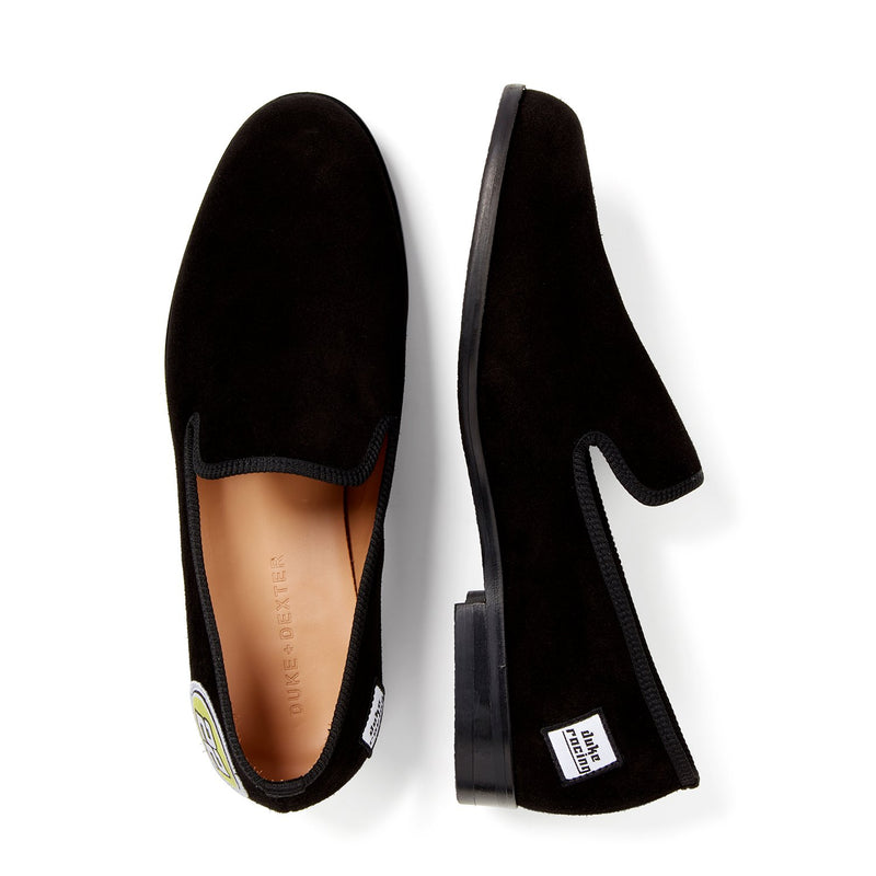 DUKE Black 22 Racing Loafer
