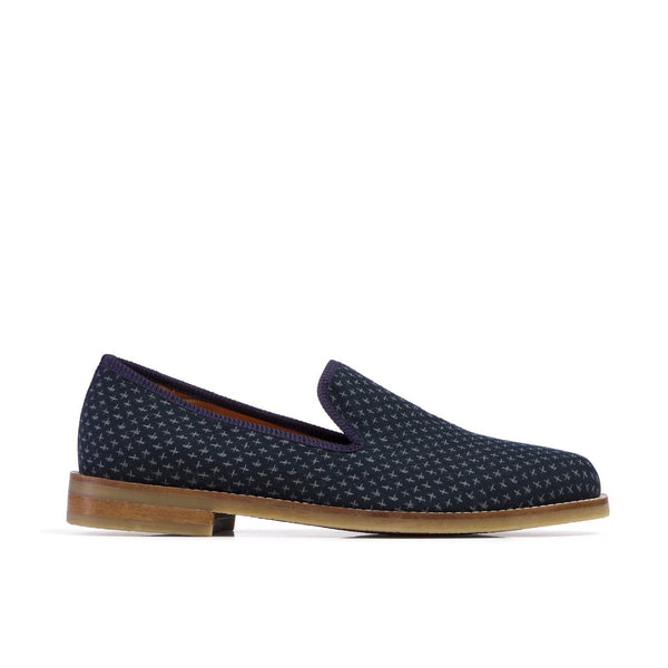 DUKE Cross Navy Loafer