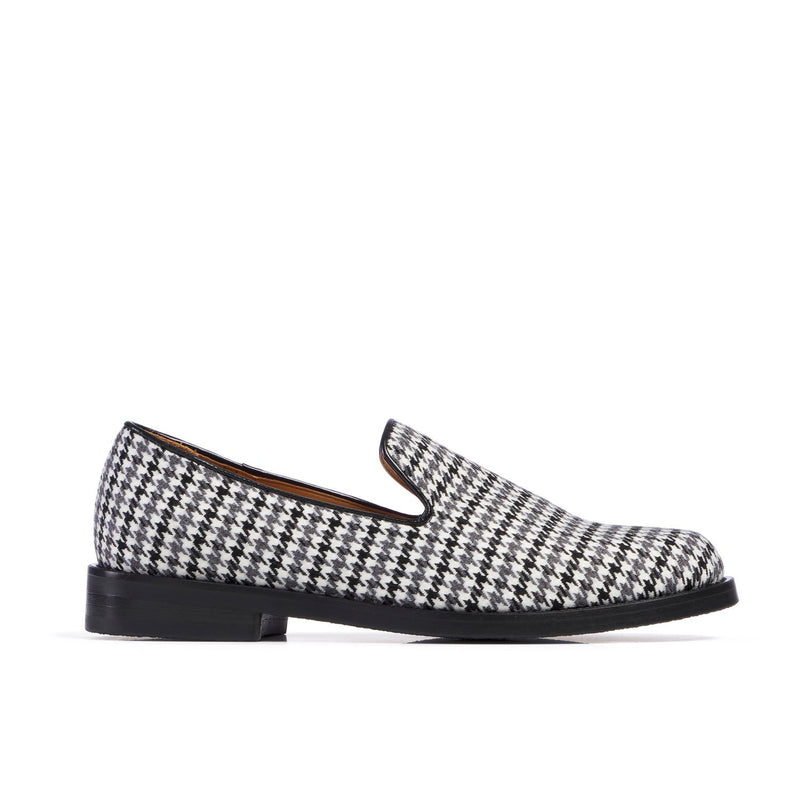 DUKE Houndstooth Duotone Loafer