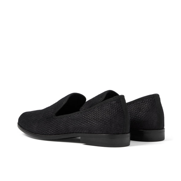 DUKE Cubed Black Loafer