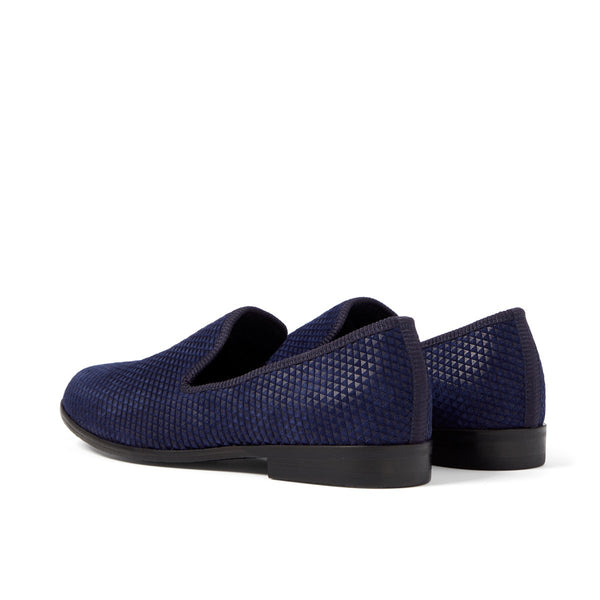 DUKE Pyramid Navy Loafer