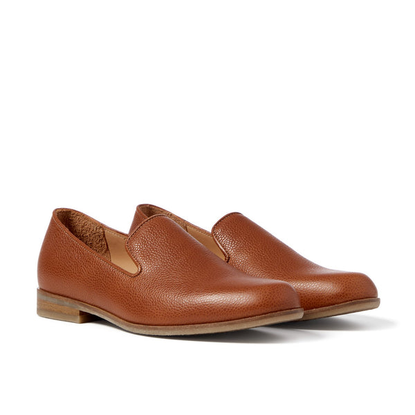 MOORE Pebble Tan Loafer