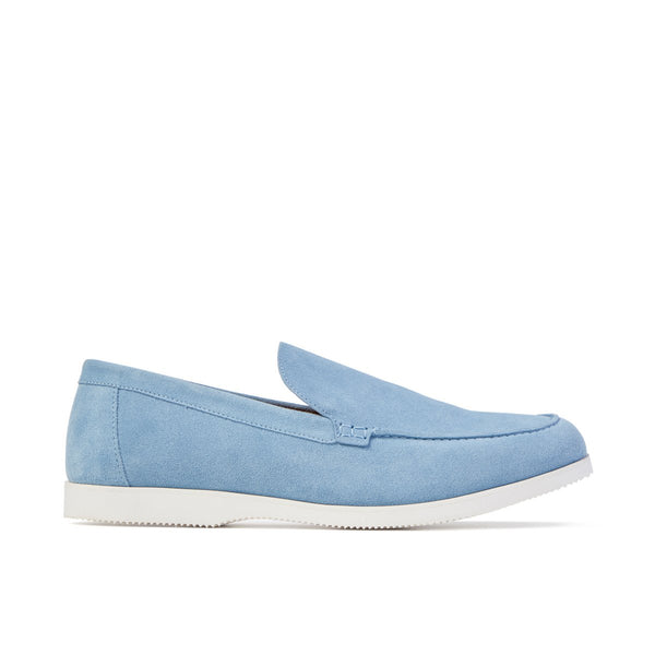 SCOTT Sky Blue Suede Loafer