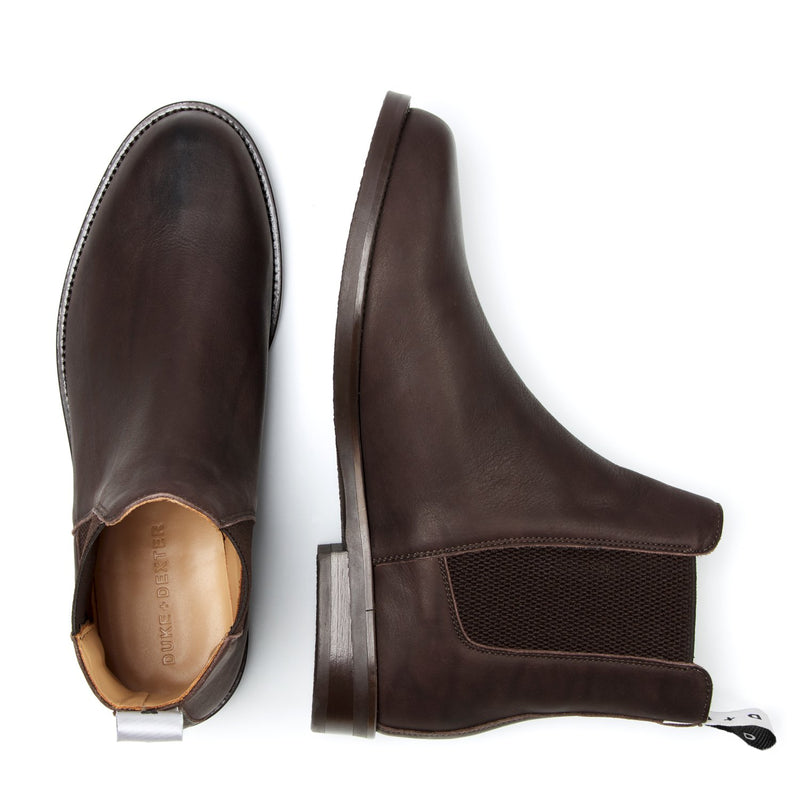 WOOLF Sark Brown Chelsea Boot
