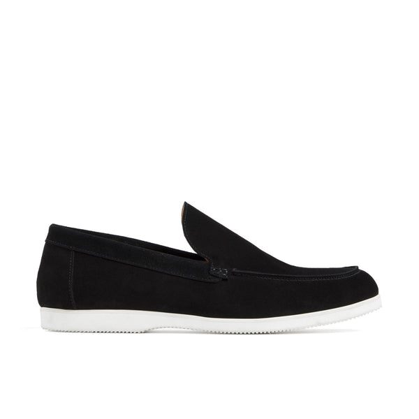 SCOTT Black Suede Loafer