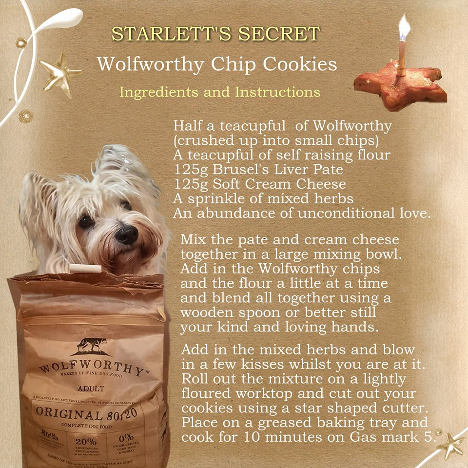 Starlett's Secret Wolfworthy Chip Cookies