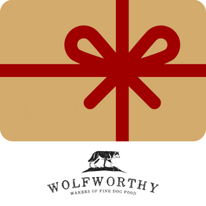 Wolfworthy 1.5kg & 7.5kg Gift Cards
