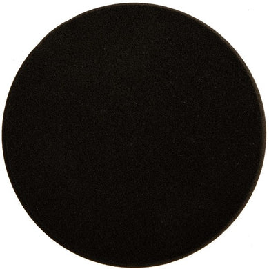 Mirka 150x25mm polishing foam pad black flat