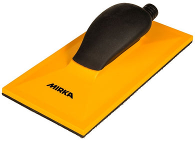 MIRKA 115x230mm YELLOW hand sanding block