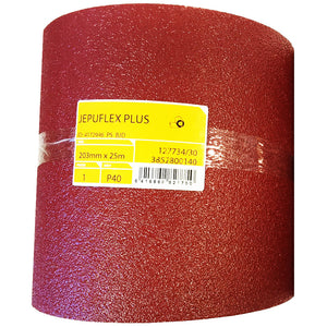 MIRKA Jepuflex 203mm x 25m roll of abrasive sheet