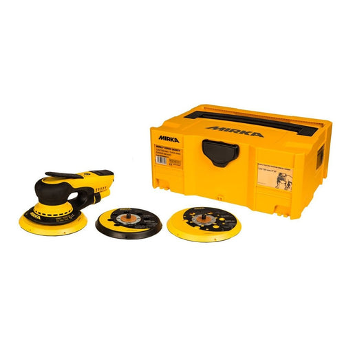 Mirka DEROS 5650CV 150mm + 125mm electric sander KIT, central vacuum, 5.0mm orbit