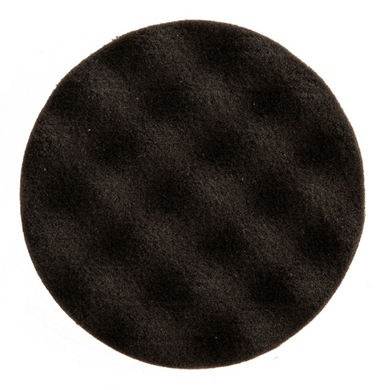 Mirka 85x25mm black waffle polishing foam pad