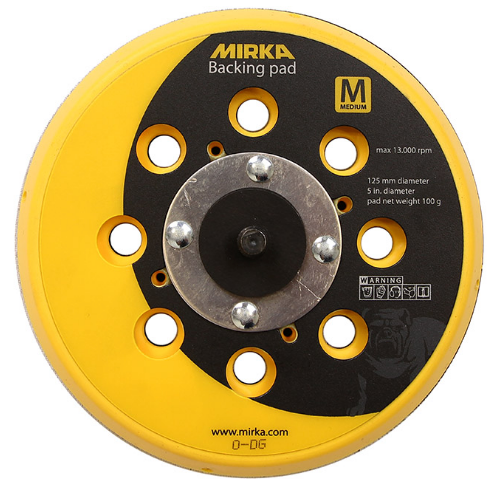MIRKA backing pad for net sanding 125mm 5/16