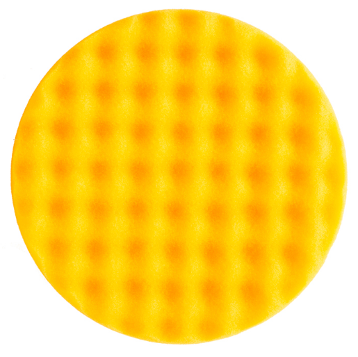 MIRKA 150x25mm yellow waffle polishing foam pad