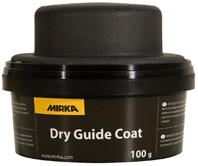 MIRKA dry guide coat for scratch detection