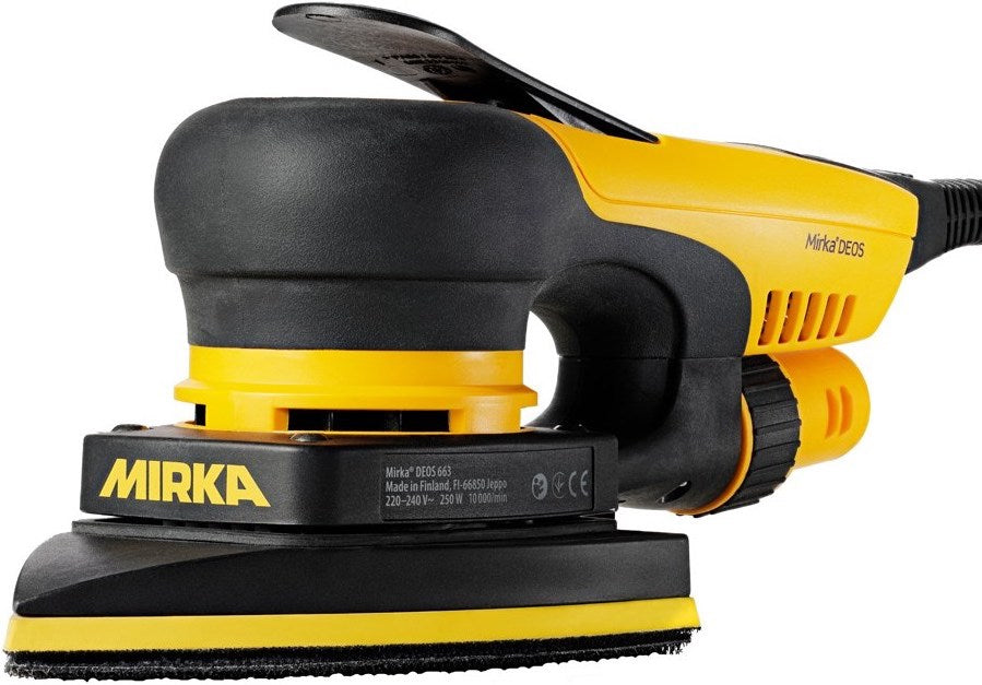 Mirka DEOS 663CV 100x152x152mm electric sander, central vacuum, 3.0mm orbit