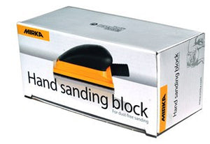 MIRKA 70x125mm YELLOW hand sanding block