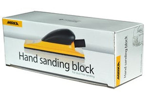 MIRKA 70x198mm YELLOW hand sanding block