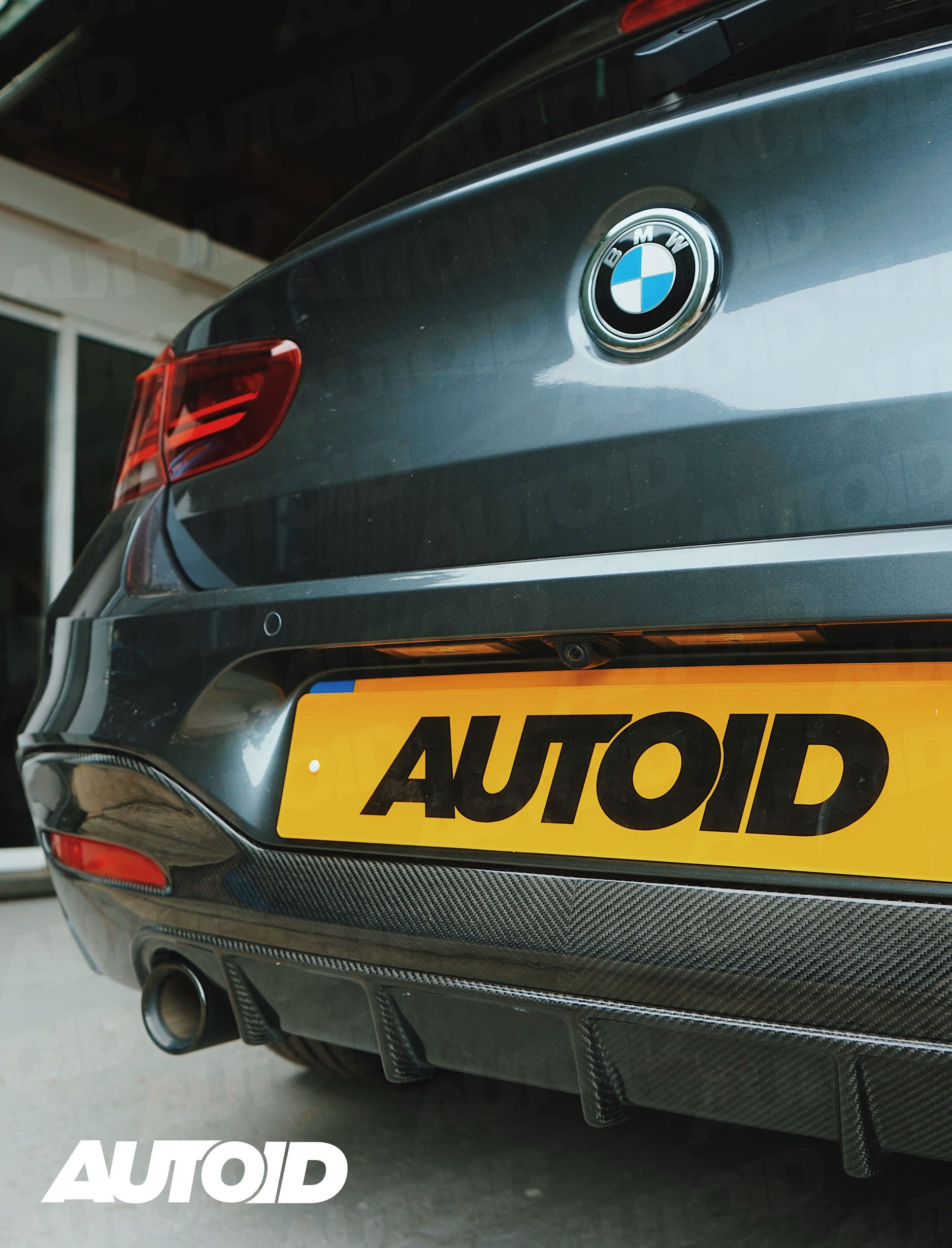 AUTOID Carbon Fibre Performance Rear Diffuser for BMW M140i/M135i LCI _ Detail