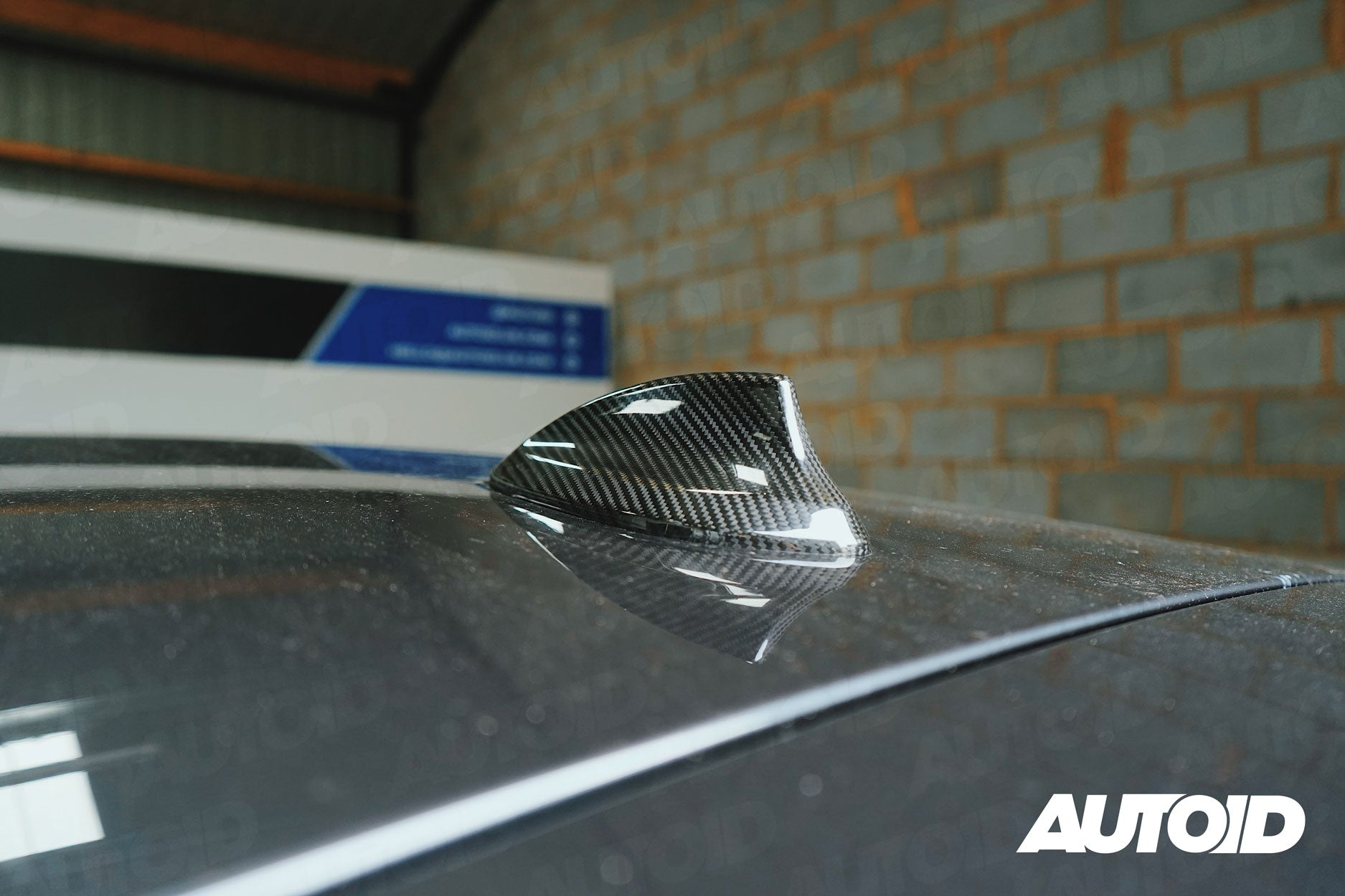 AUTOID Full Carbon Fibre Shark Fin Cover for BMW (Various Models)
