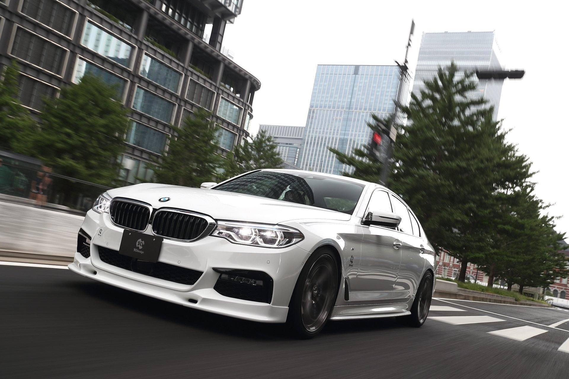 3DDesign Painted Front Splitter For BMW 5 Series M Sport (2017+, G30 G31)