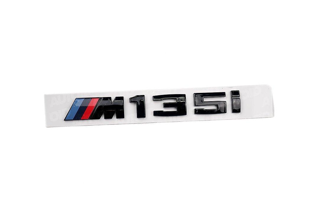 BMW - Gloss Black Rear Model Badge For BMW M135i
