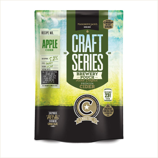 Craft Series Apple Cider Pouch by Mangrove Jack's - From Scratch