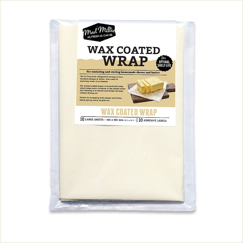 Wax Coated Cheese Paper by Mad Millie - From Scratch