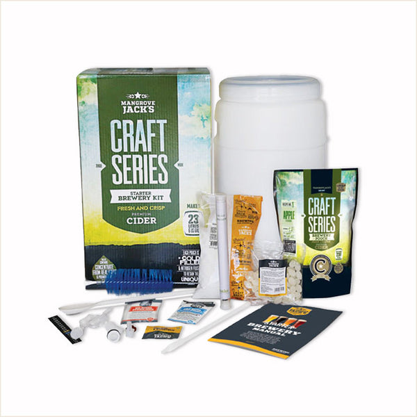 Cider Starter Brewery Kit by Mangrove Jack's - From Scratch
