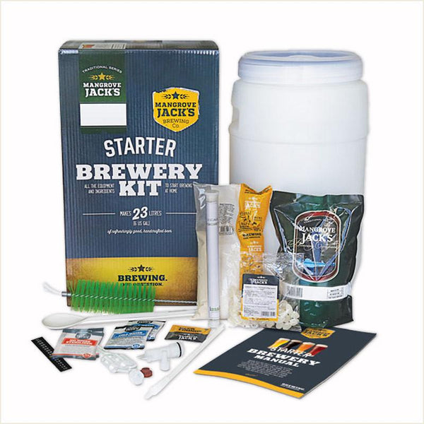 Starter Brewery Kit by Mangrove Jack's - From Scratch