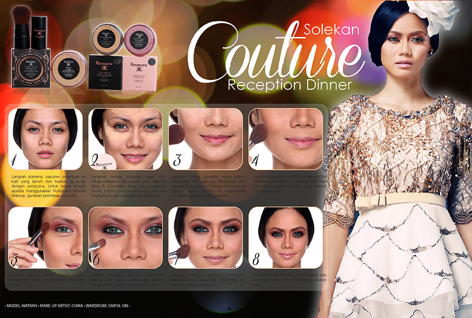 Couture makeup tip