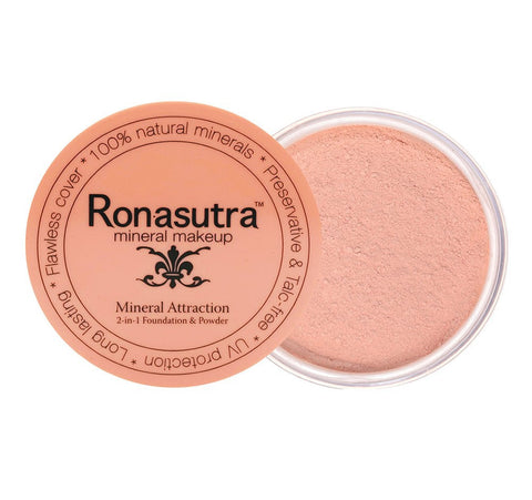 2-in-1 Mineral Foundation & Powder in 'Cream Peach' (01)