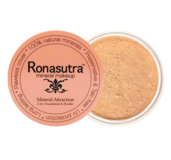 2-in-1 Mineral Foundation & Powder 'Natural Buff' (03)