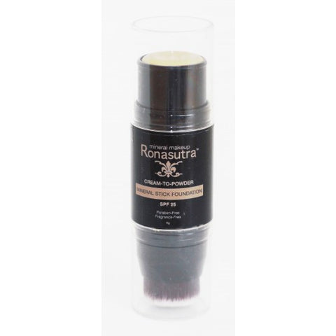 Ronasutra Mineral Stick Foundation (SF02) - Sawo Yellow (Also suitable for highlighting & under-eye)