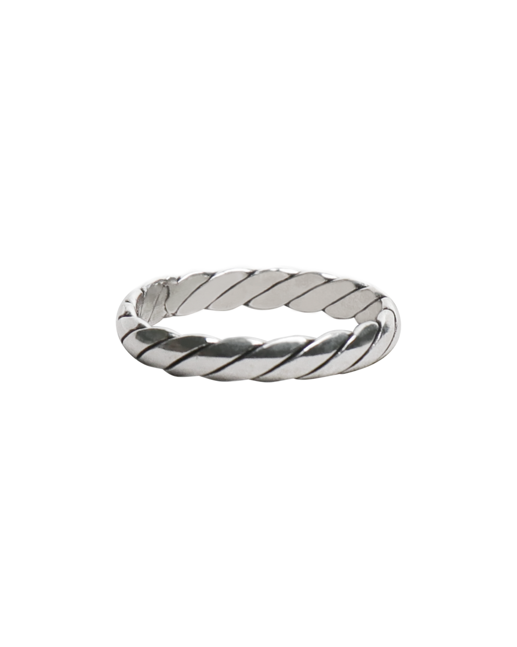 4mm Twist Band Ring