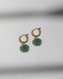 Charms: Aventurine (Hexagon)